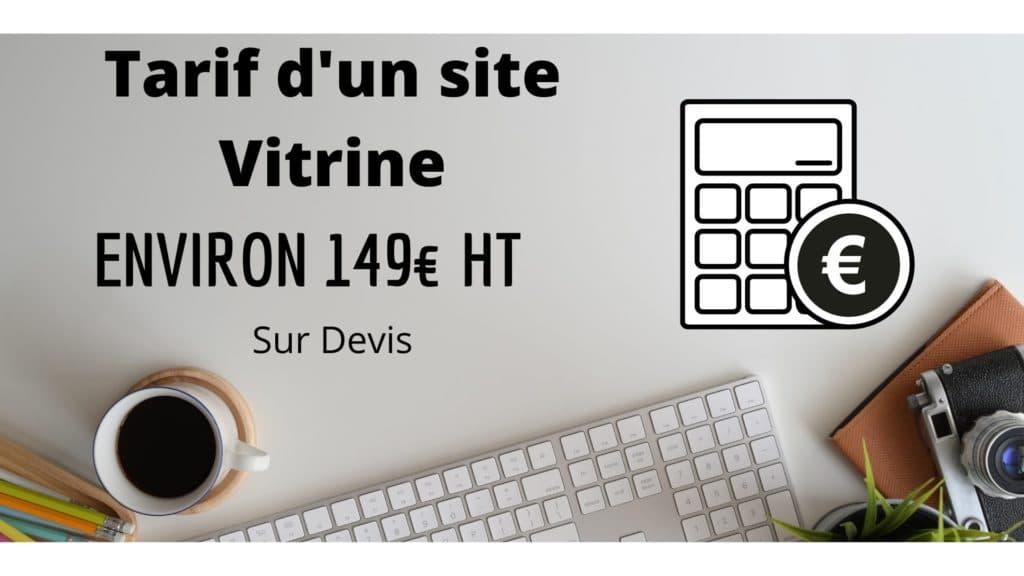 Tarif - site vitrine - Création site internet - lead sourcing