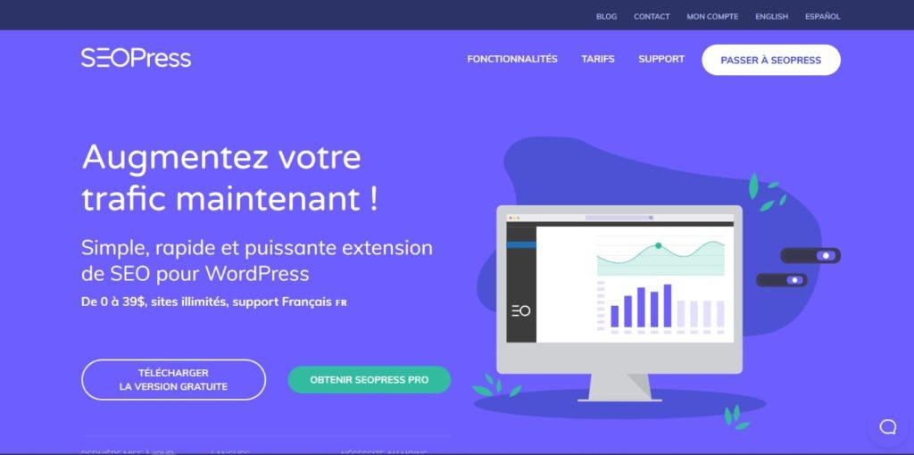 SEOPress - extension wordpress