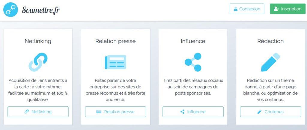 soumettre.fr - netlinking SEO WordPress